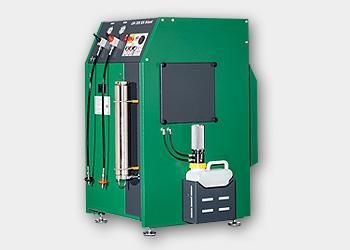LW150 ES - Figura con las siguientes opciones: Presión de llenado de 200 y 300 bar