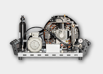 LW 150 E MC - Vista trasera con opciones